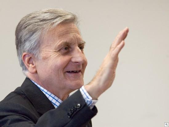 Jean-Claude Trichet souriant