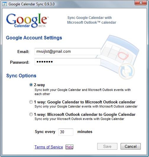 Googlecalendarsync